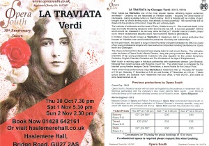 Opera South Traviata