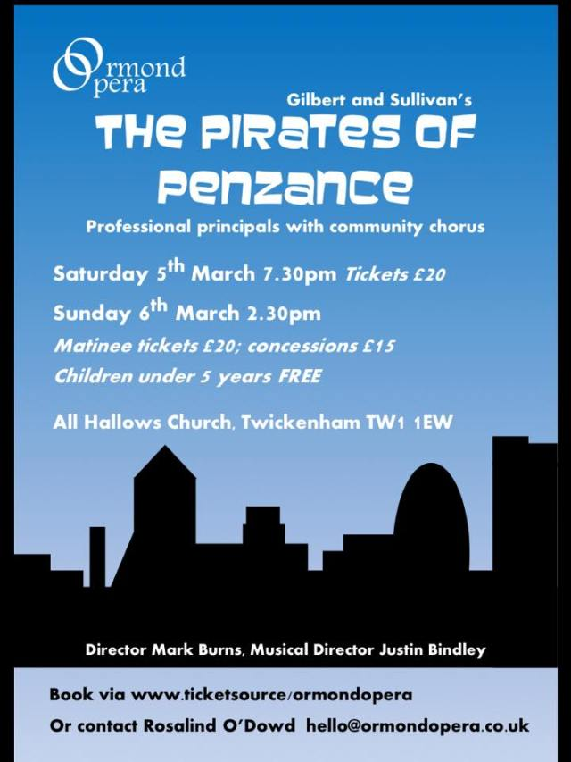 The Pirates of Penzance - Ormond Opera
