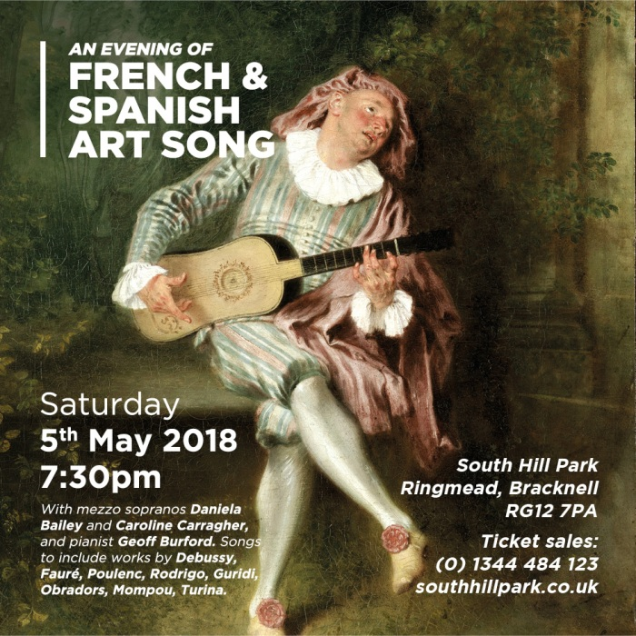 An Evening of french and Spanish Art Song