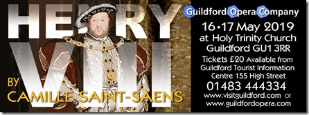 Henry VIII Guildford Opera